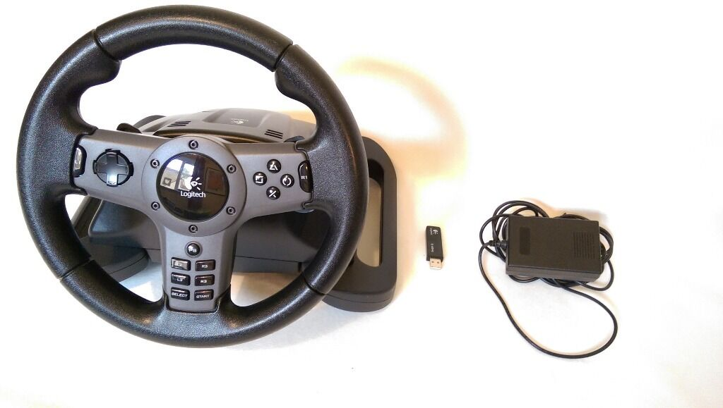 Ps3 Steering Wheel Logitch Driving Force Wireless Steering Wheel For Ps3