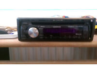 Kenwood KDC-BT43U Bluetooth car stereo. available with Focus or Laguna stalk control module