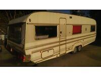 28' Tabbert 680 Caravan Twin axle 5 berth Large Touring 4 Holiday Motor Home Mobile Princess