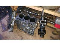 Mitsubishi L3E 3 cyl diesel engine & spares