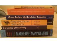 Six Marketing Textbooks worth over £300