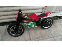 Kiddimoto Ducati Balance Bike - Excellent Condition, Ideal Present.