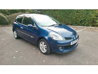 RENAULT CLIO 1.5 DCI DYNAMIQUE 86 BHP, LONG MOT, £30 TAX, 60+ MPG, GREAT CONDITION
