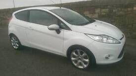 2010 Ford fiesta 1.4 tdci zetec low miles 12 months mot £20 year tax