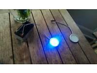 12v blue LED car / campervan