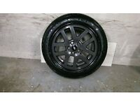 ALLOYS X 4 OF 18 INCH GENUINE/DISCOVERY/COMMERCIAL/FULLY POWDERCOATED IN A STUNNING ANTHRACITE NICE
