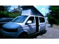 VW T5 Camper King Karisma. 2014, 37,500 miles, excellent condition, kitchen, 4 berths, pop top,