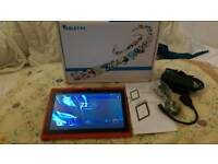 """7"""" android tablet 8gb 4.2.2 wif dual cam"""