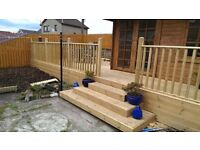 FENCING ,DECKING , SHEDS .WOODEN GARDEN GATES