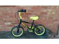 Bike - 14 inch tyres