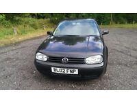 2002 VW Golf 1.6 16V Petrol