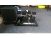 Sony 3D Blu-ray surround sound 6 speakers USB slot 3D glasses