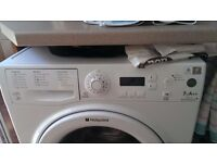 Hotpoint Aquarius washing machine White All accessories and instruction book supplied.