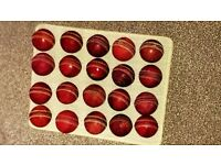 20 Used Good Quality Cricket Balls - Good Condition
