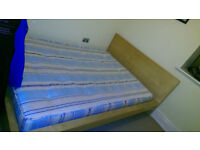 Double Bed - with Mattress