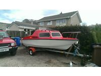 17.5ft microplus day boat/cabin criuser