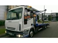 Iveco eurocargo 75E17 s recovery truck 2 car transporter
