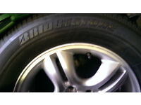 kia sportage spare wheel brand new with tyre plus box parts £100 for the lot