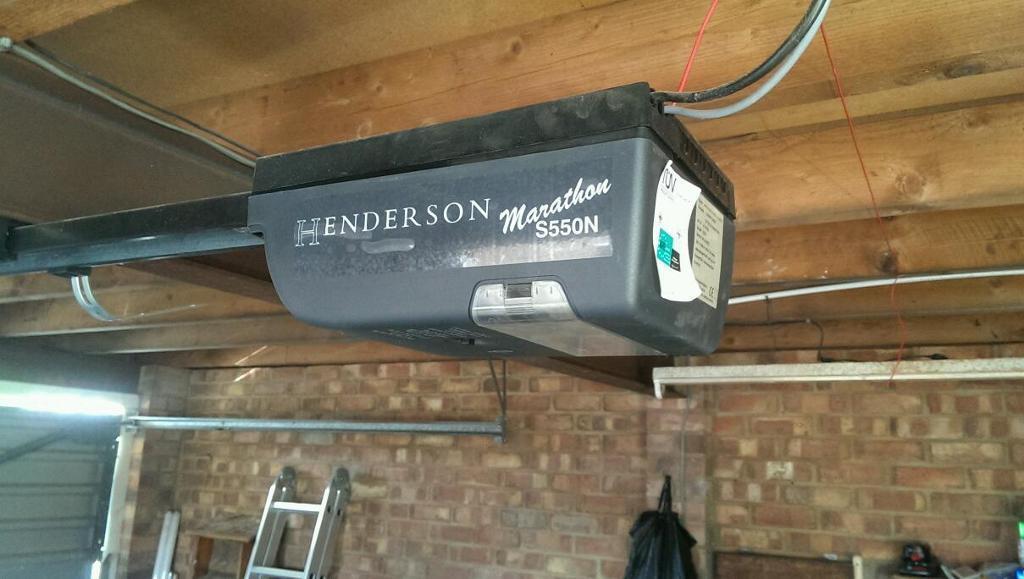 Henderson Marathon S550N Electric Garage Door Motor.