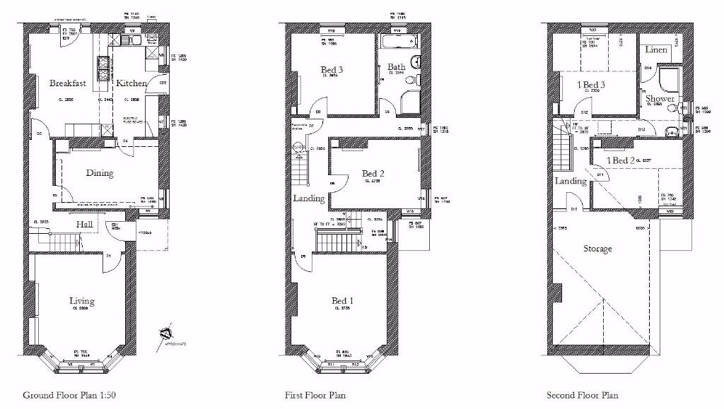 ordinary cad plans #3: Architectural drawings, Planning Drawing, Building CAD plans for Extensions  and Refurbishment.