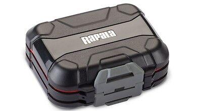 Rapala Utility Tackle Box - Small - Heavy duty 4-sided tackle storage (Small Utility Box)
