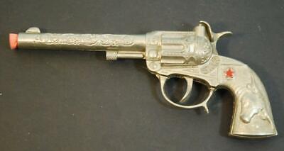 c.1950's Hubley Star Steer Western Cowboy Vintage Cap Pistol