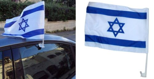Israel Flag For Car Window Jewish Country Flag For Vehicle Truck Jeep