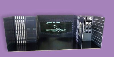 """Retro Tarkin Overbridge Custom Playset 4"""" Star Wars Hasbro K"""