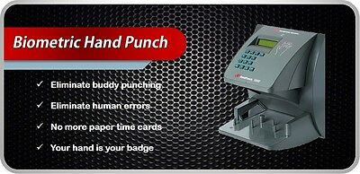 Hp 2000 Hand Punch Time Clock Unit