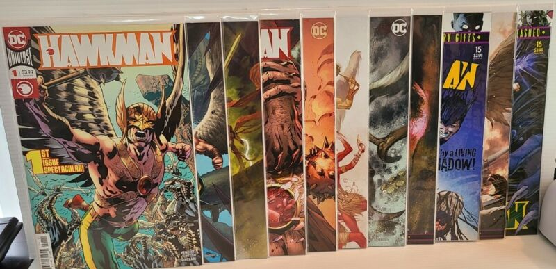 DC Comics Hawkman Collection - 11 Issues With Variant Covers