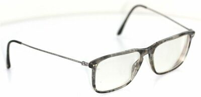 GIORGIO ARMANI Frames of Life Brille Grau gemustert glasses FASSUNG