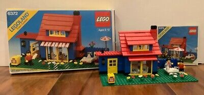 LEGO Town House (Set 6372) Complete with Box and Instructions