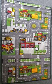 Children's play City rug