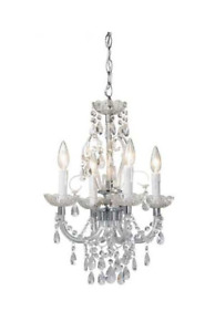 Opulence Chandelier 4 lights with medallion