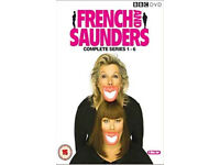 French & Saunders series 1-6 dvd boxset