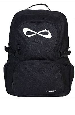 Nfinity Sparkle Black Backpack Cheer Bag