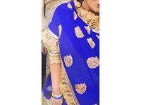 2 amazing beautiful sari's for sale!!!
