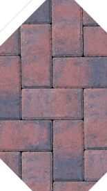 Brindle 50mm drive line block paving