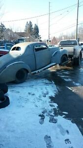 1940 FORD COUPE CHOP TOP ONE OF A KIND