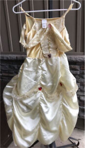 Kids' Belle halloween dress from beauty and the beast