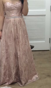 Pink and Silver Gown