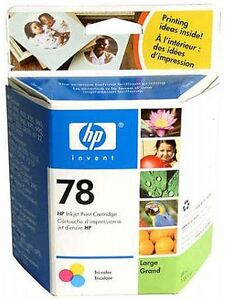 HP 78 Tri-Colour Ink Cartridge NEW UNOPENED BOX
