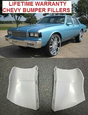 Chevrolet Caprice Bumper Fillers 1986 1987 1988 1989 1990 rear fillers -
