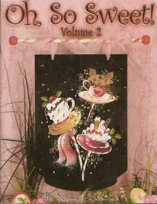 Oh So Sweet Vol. 2 Sandra Malone Painting Book NEW Ornaments