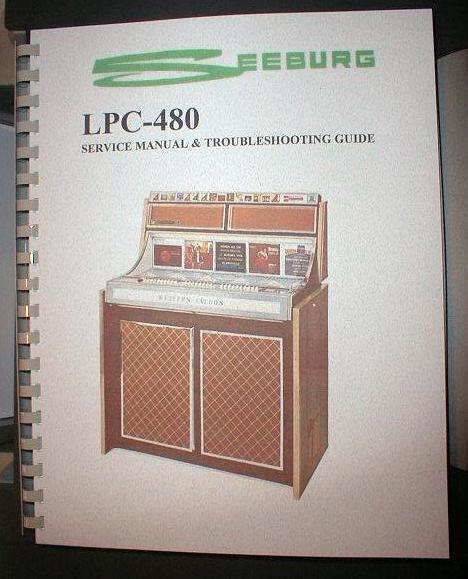 Seeburg LPC-480 Jukebox Manual