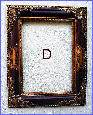 antik2000 Gemaelde Gemälde Bild Barock Holz Gold Stuck Rahmen Bilderrahmen D