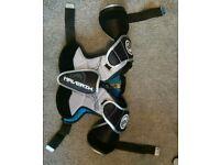 Lacrosse body pads