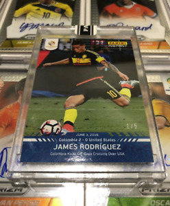 2016 Panini Instant Copa America James Rodriguez Card #1 - 1/5