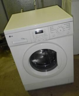 LG 7.5KG front Load Washer Washer (Includes Delivery) Wingfield Port Adelaide Area Preview