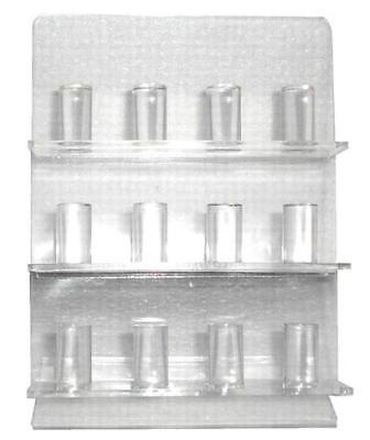Stand Up Counter Acrylic Ring Display Acyrlic Holder New Rings Store Rack Jl489